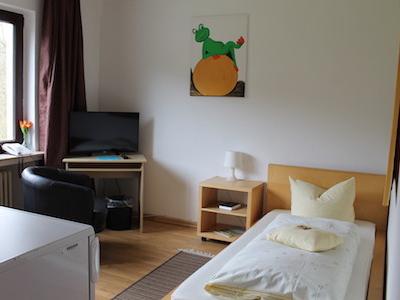 Einzelzimmer-Hotel-Talburg